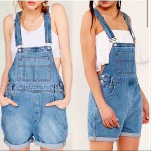 Urban Outfitters BDG Medium Wash Overalls
